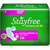Stayfree Advanced XL Soft Ultra-thin  (with wings, 14 pads)