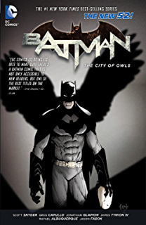Amazon batman vol 3 death of the family the new 52 batman 2 the city of owls batman graphic novel fandeluxe Images