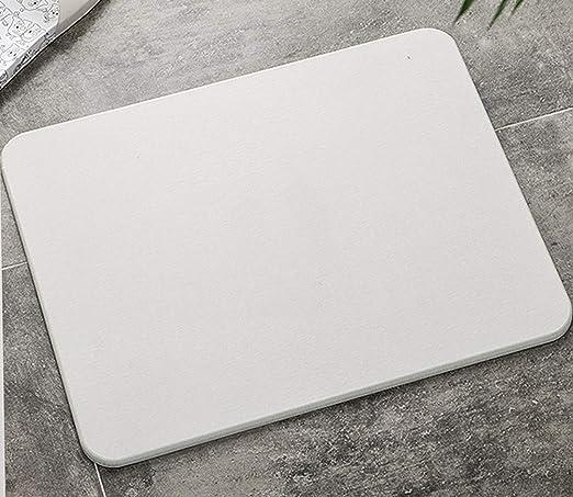 Amazon.co.jp: 珪藻土 食器 水切りラック 40×30cm ドライマット [抜群 ...
