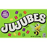 Jujubes Gummy Candy, 5.5 Ounce Theatre Box, Pack of 12