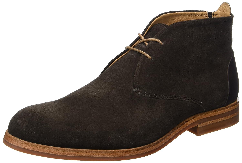 Hudson London Herren Matteo Suede Chukka Boots Braun (Brown)