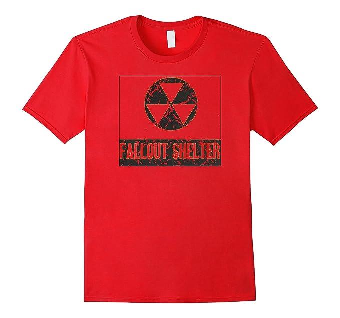 Amazon Fallout Shelter Symbol Nuclear War Nostalgic T Shirt