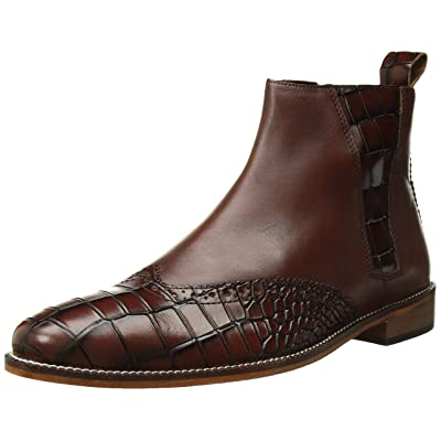 STACY ADAMS Men's Fazio Wingtip Side-Zip Boot Fashion | Shoes