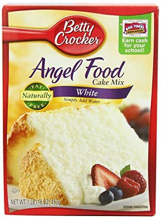 Betty Crocker Angel Food Cake Mix 453 G Pack Of 2