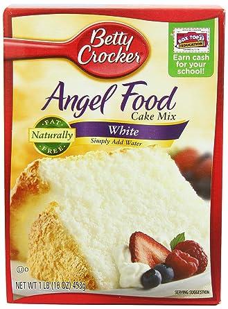 Betty Crocker Angel Food Cake Mix 453 G Pack Of 2