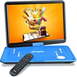 """SUNPIN 17.9"""" Portable DVD Player with 15.6 inch Large HD Swivel Screen, Long Lasting Rechargeable Battery, Support USB…"""