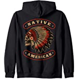 Chef Crâne Warbonnet coiffure Sweat-shirt Native American Heritage Sweater