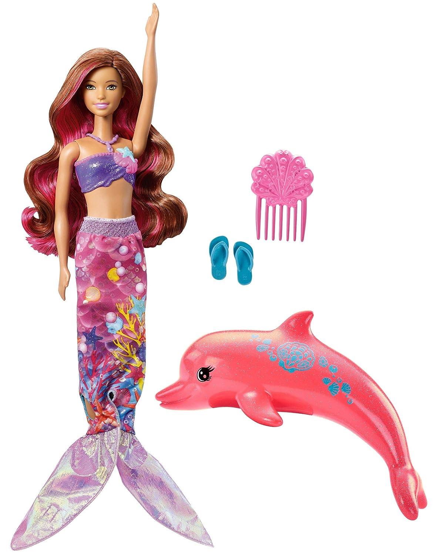 Barbie Dolphin Magic Transforming Mermaid Doll Mattel FBD64