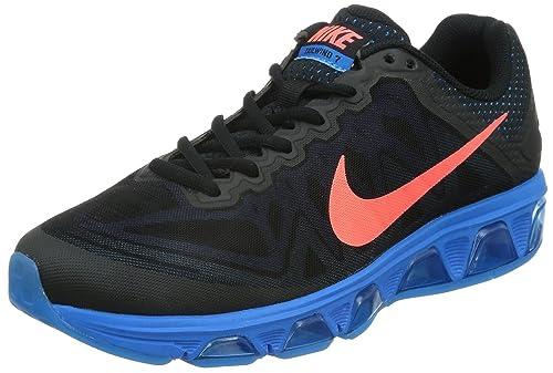on sale 311b0 cf597 Nike Air Max Tailwind 7 Men s Running Shoe Black   Hot Lava   Pht Blue
