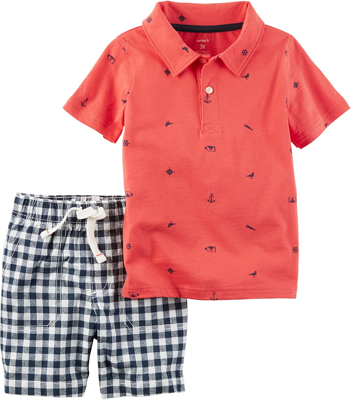 Carters Baby Boys Polo-Shorts