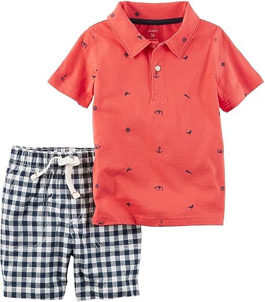 4e6c1c848 clearance carters baby boys polo shorts 43e66 f7b97