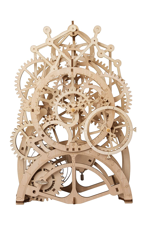 Rowood 14歳以上 メカニカルギア 3D木製パズル 3D木製パズル クラフトトイ 大人&子供へのギフト 14歳以上 DIYモデル組み立てキット Rowood ペンデュラム時計 B07NKHGMM8, 高千穂町:c898b6f9 --- m2cweb.com
