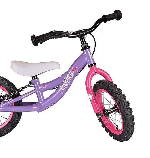 Berg Bicicleta Balance Bike Sierra 1St Girl PU/PK_Cy Morado/Rosa ...