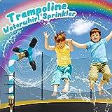SOOFUN Trampoline Accessories for Kids, Trampoline WaterWhirl Sprinkler Water Park, Outdoor Trampoline Water Play Sprinklers