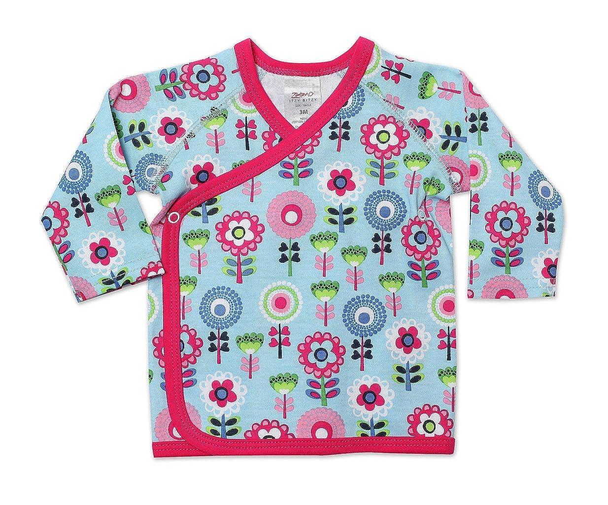 Zutano Baby-Girls Newborn Primrose Kimono Top AIB446