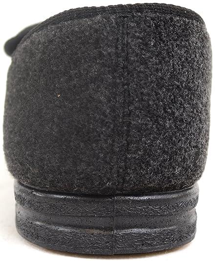 5ddbeac7 Zapatos ortopédicos para hombre con amplitud EEE, ajustables: Amazon.es:  Zapatos y complementos