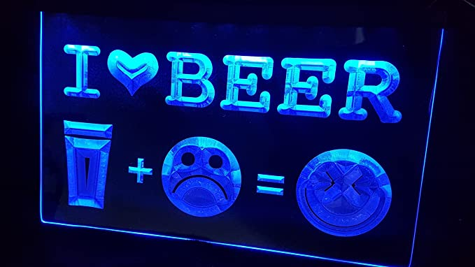 Zhengdian Electronic Cerveza Beer Neon 3D Neon LED Cartel ...