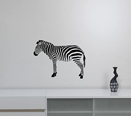 Amazon.com: Zebra Wall Decor Vinyl Sticker Wild Animal ...