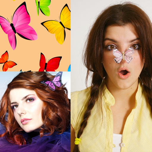(Butterfly Photo Collage)