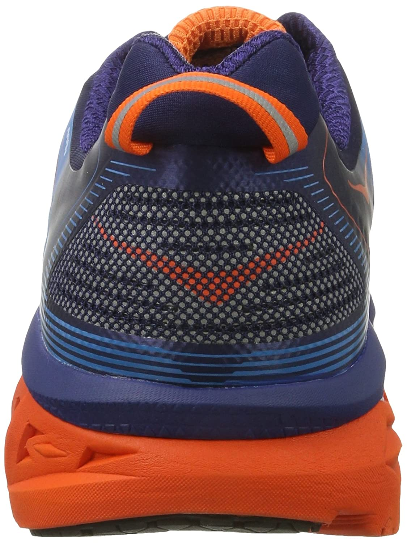 HOKA ONE ONE Mens Arahi Running Shoe B01H6AY70U 12 D(M) US|Medieval Blue/Red Orange