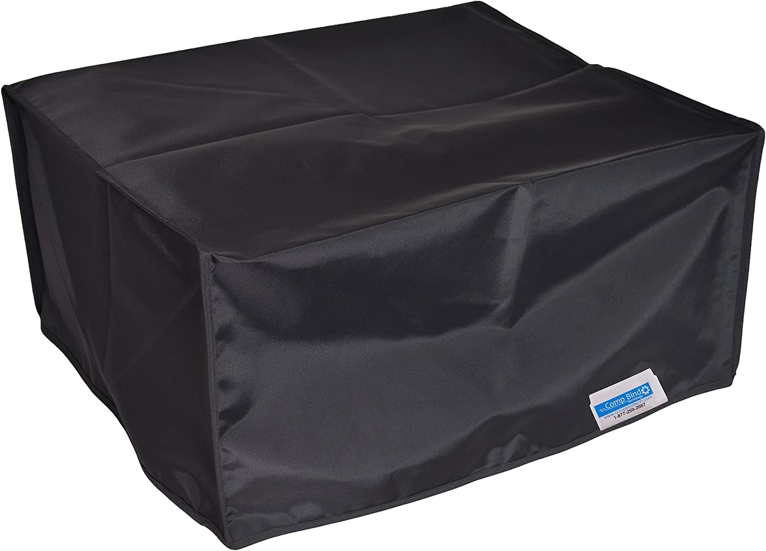 Comp Bind Technology Dust Cover for HP OfficeJet Pro 8610 Printer Black Nylon Anti-Static Dust Cover Dimensions 19.7''W x 18.5''D x 12''H by Comp Bind Technology