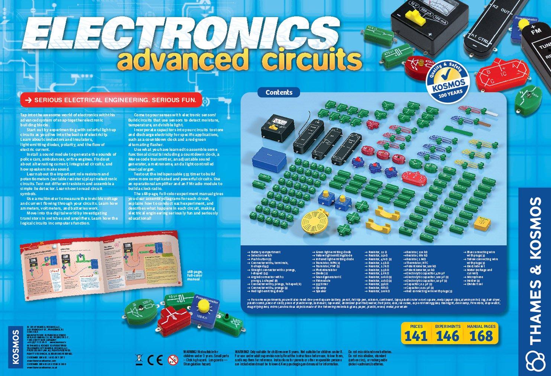 Thames Kosmos Electronics Advanced Circuit Kit Kits 555timer Alternating Blinking Led Issue Amazon Canada
