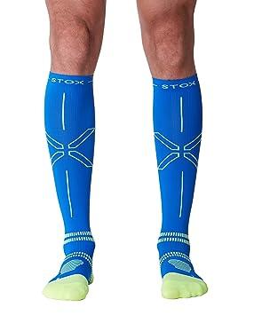 STOX Lightweight Calcetines de running Hombre Large / Calcetines de compresión / Calcetines deportivos / ¡