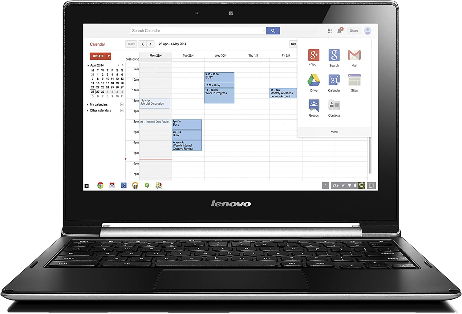 Lenovo N20p Multimode Touchscreen Chromebook (Grey) - (Intel CDC N2830 2.16  GHz, 4 GB RAM, 16 GB SSD, Integrated Graphics, Webcam, Micro HDMI,  Bluetooth, Wi-Fi, Chrome OS): Amazon.co.uk: Computers & Accessories