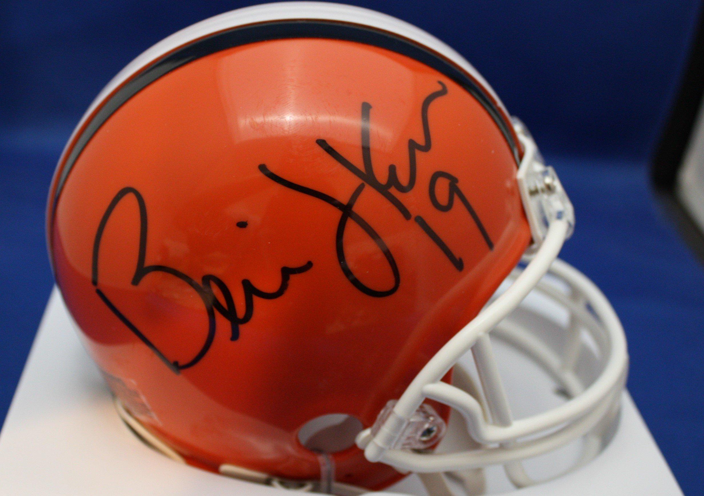 Autographed Bernie Kosar Cleveland Browns Mini helmet w/COA