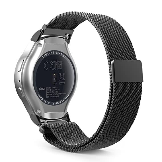 Amazon.com: MoKo Gear S2 Watch Band, Milanese Loop Stainless ...