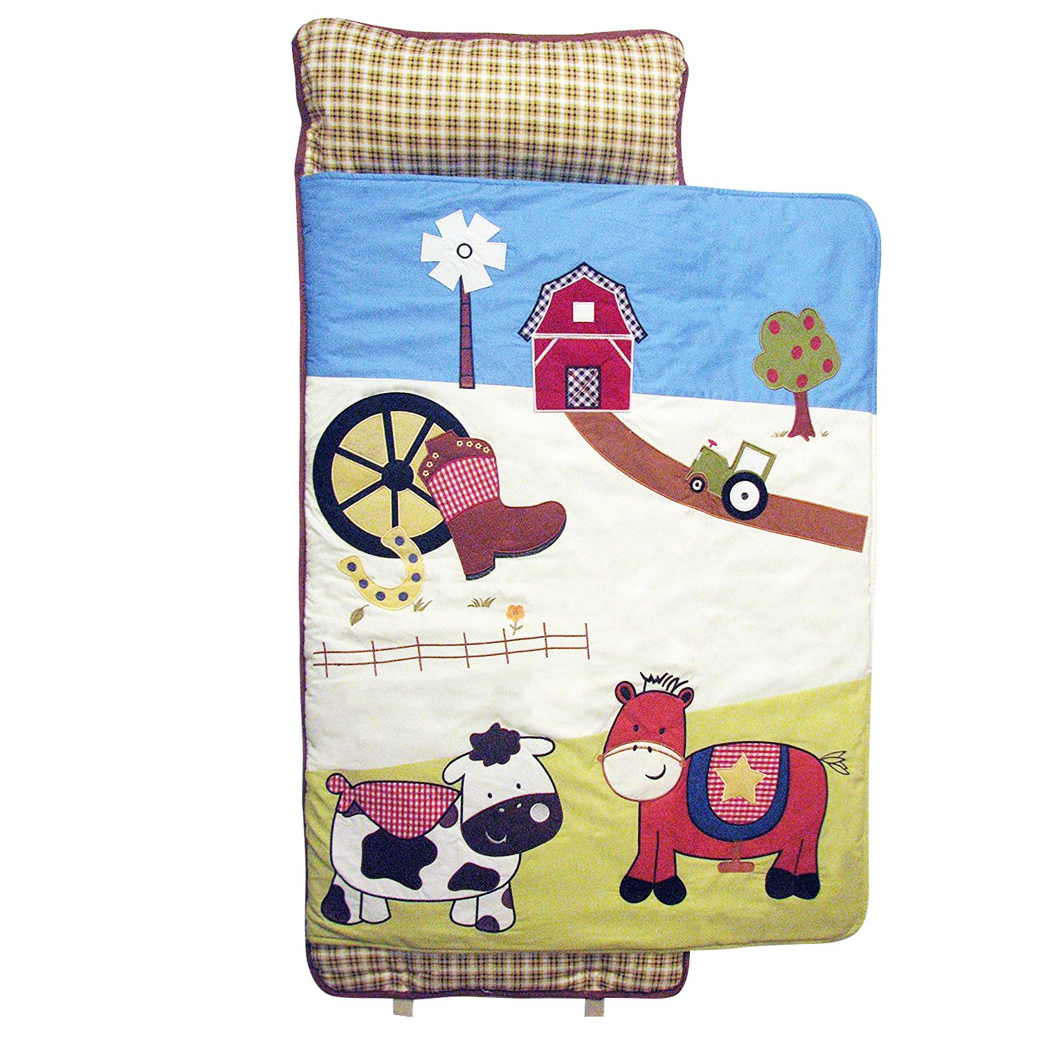 SoHo Nap Mat , Farmland Ranch (All Hand Embroidery) by Ellie and Luke (Image #1)