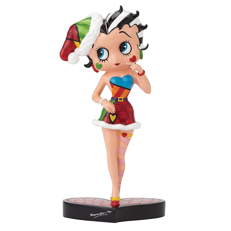 ENESCO 4046443 Britto Betty Boop Boop Boop In Santa Outfit Figur d4b719