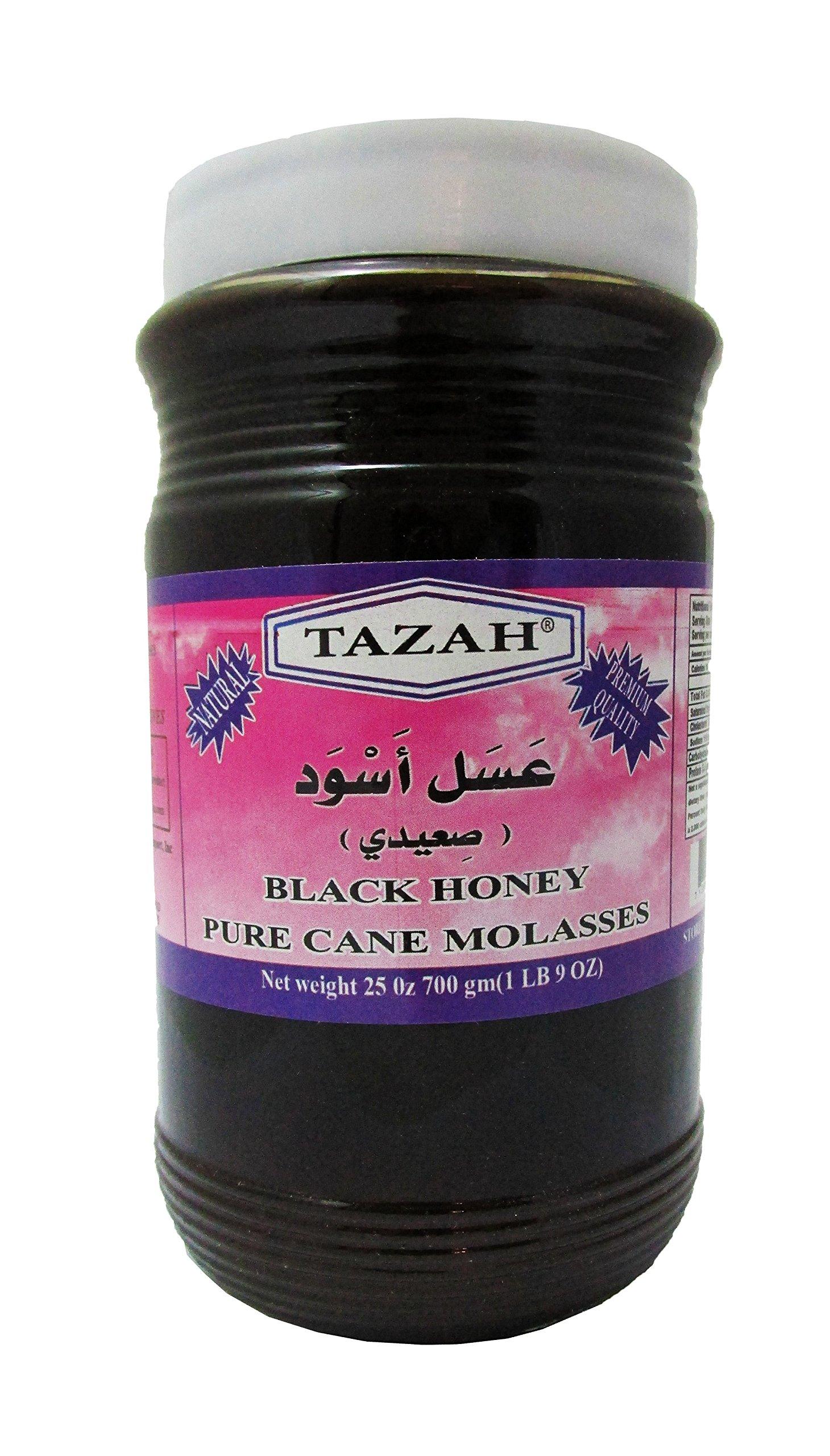 Tazah Egyptian Molasses (Black Honey) 700 Gr / 25 Oz