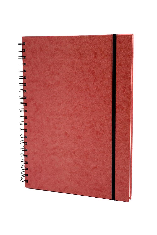 Europa 4200 - Quaderno con rilegatura a spirale, copertina rigida, A4, 192 pagine 4200Z
