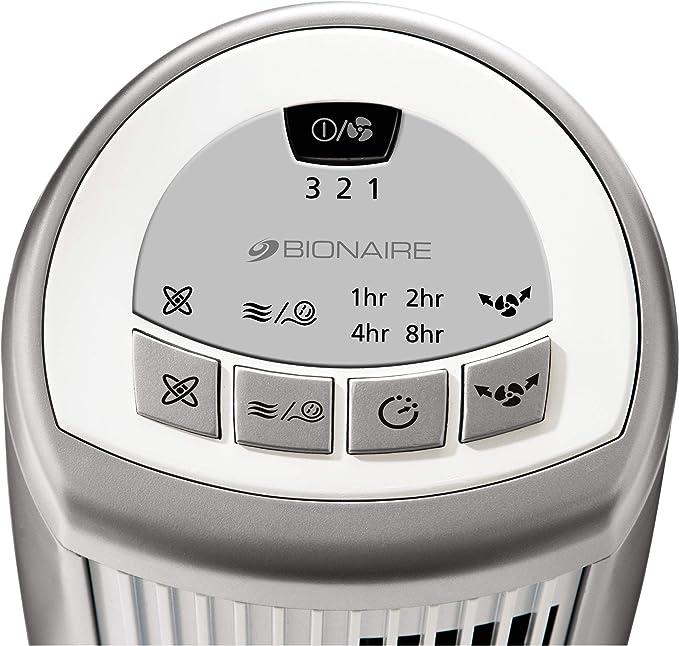 Bionaire BMT014D - Ventilador digital mini torre con ionizador, 35 ...
