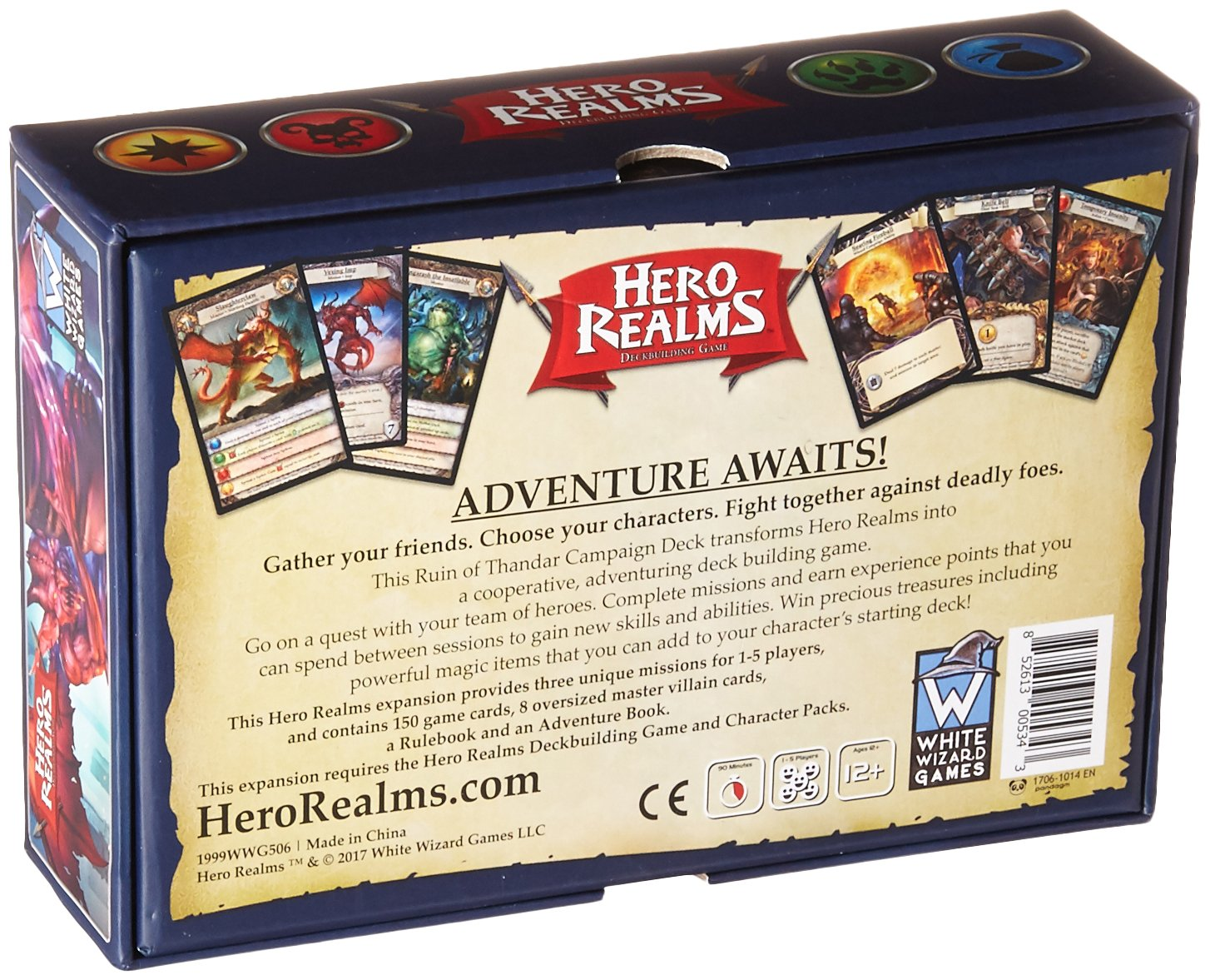 The Ruin of Thandar White Wizard games 60344 Hero Realms