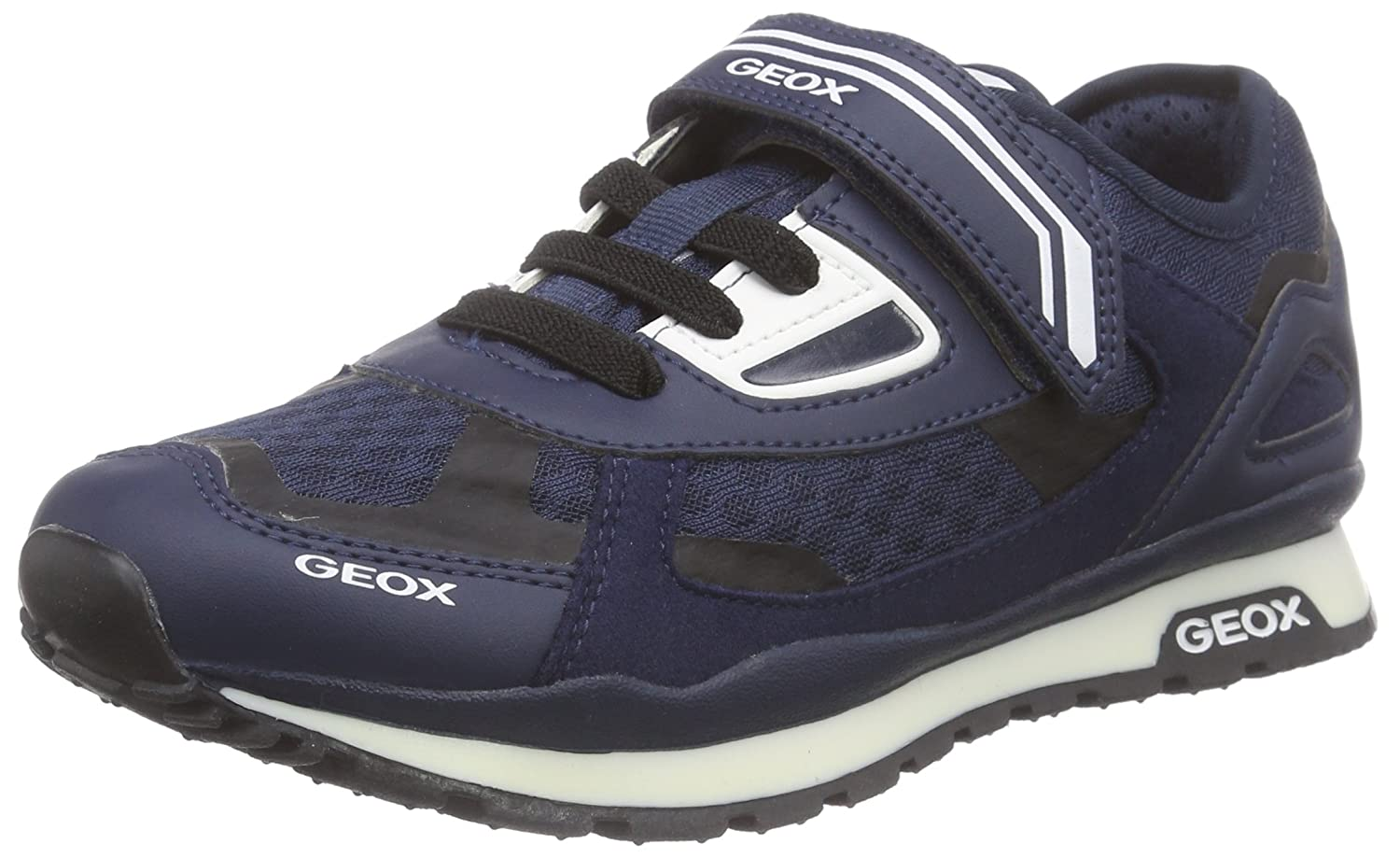 Geox J Pavel A, Boys' Low Top Sneakers, Blue (Navyc4002