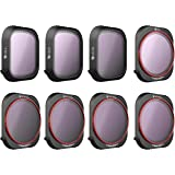 Freewell All Day – 4K Series – 8Pack ND4, ND8, ND16, CPL, ND8/PL, ND16/PL, ND32/PL, ND64/PL Camera Lens Filters Compatible wi