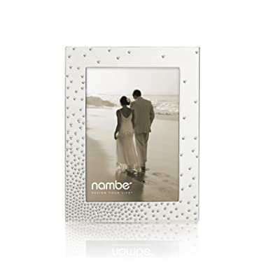 Nambe Dazzle Picture Frame, 5  x 7
