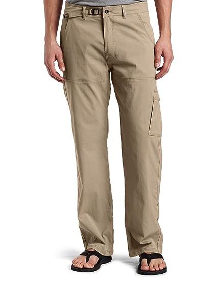 d4d09a28a8 prAna Living Stretch Zion 34-Inch Inseam Pant, Dark Khaki, Medium