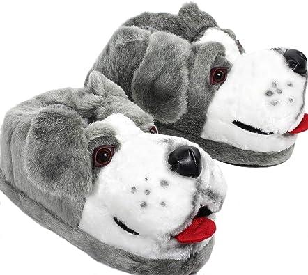 Sleeper Z Perro Pastor Zapatillas De Casa Animales Originales Y Divertidas Adultos Y Niños Hombre Y Mujer 29 33 Xs Amazon Es Zapatos Y Complementos