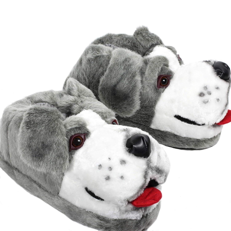 Sleeper\'z – Perro pastor – Zapatillas de casa animales originales y  divertidas – Adultos y Niños - Hombre y Mujer