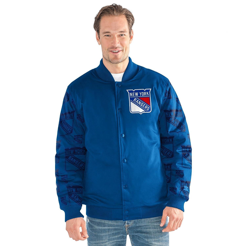 NHLメンズVarsity Bomberジャケット ロイヤル XL