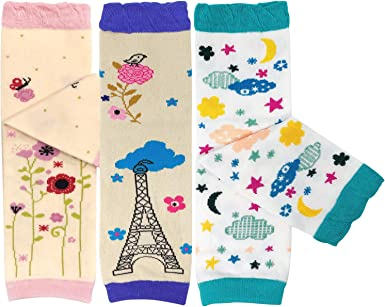 Bowbear Baby /& Toddler Boys Set of 6 Assorted Leg Warmers