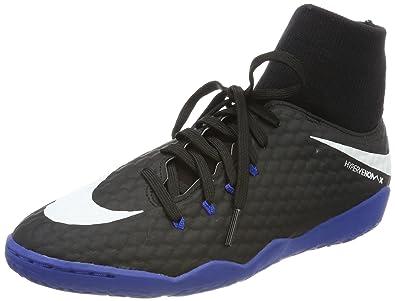 0884d6b1f34a0 Nike Hypervenomx Phelon III DF Indoor Shoes  Black  (6.5)
