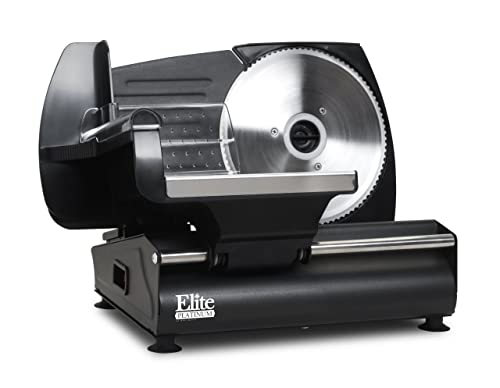 Elite Platinum EMT-503B Ultimate Precision Electric Deli Food Meat Slicer