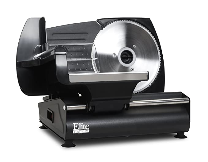 Elite Platinum EMT-503B Ultimate Electric Deli Food Meat Slicer – Best Manual Meat Slicer