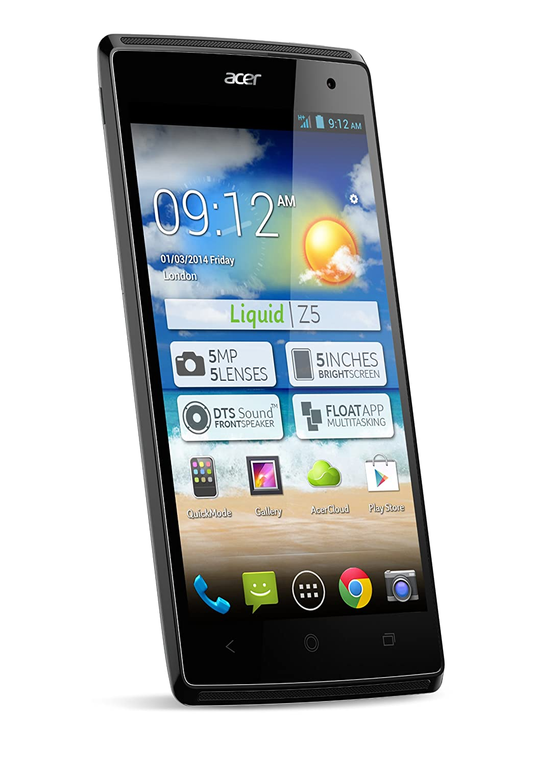 Acer Liquid Duo - Smartphone libre Android (pantalla 5