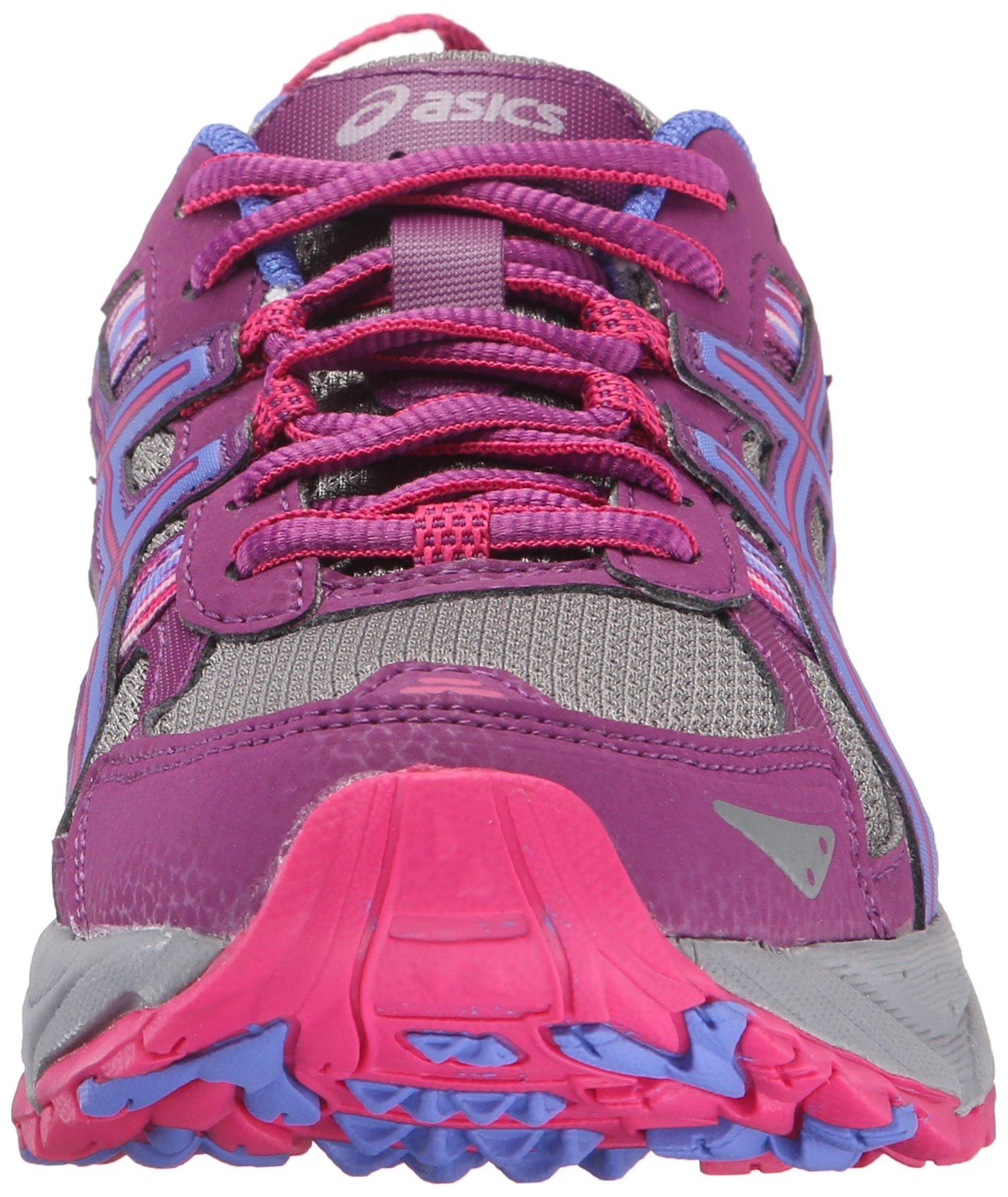 ASICS Women's Gel-Venture 5 Trail Runner, Phlox/Sport Pink/Aluminum, 6 M US by ASICS (Image #4)