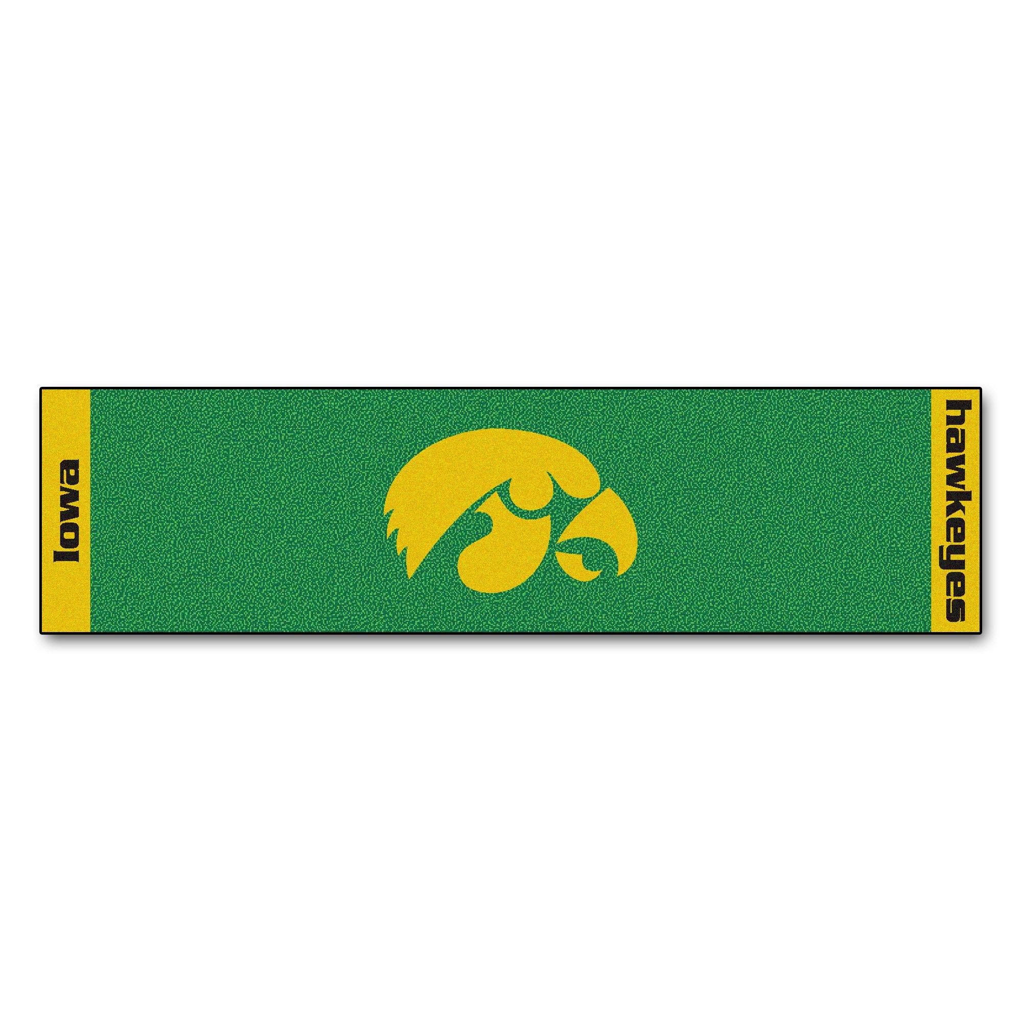 NCAA University of Iowa Hawkeyes Putting Green Mat Golf Accessory